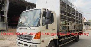 Bán xe tải Hino FC9JL TA thùng 6m6 thùng chở xe máy, linh kiện Nhật, giá cạnh tranh, lãi suất thấp, vay tới 70% giá 870 triệu tại Tp.HCM