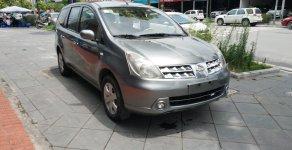 Bán ô tô Nissan Grand livina đời 2011, màu xám (ghi) giá 295 triệu tại Hà Nội