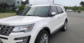 Bán Ford Explorer Limited 2.3L EcoBoost đời 2016, màu trắng, nhập khẩu nguyên chiếc giá 1 tỷ 990 tr tại Cần Thơ