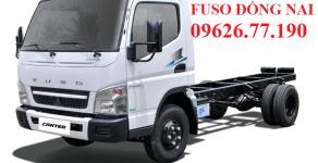 Bán xe Fuso Canter năm sản xuất 2018, màu trắng, giá cạnh tranh giá 597 triệu tại Đồng Nai