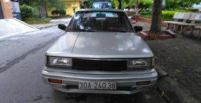 Bán ô tô Nissan Bluebird LX sản xuất 1990, màu bạc, nhập khẩu giá 42 triệu tại Hà Nội