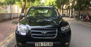 Bán xe Hyundai Santa Fe 2.2 đời 2007, màu đen, nhập khẩu nguyên chiếc, 490 triệu giá 490 triệu tại Hà Nội