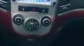 Bán Hyundai Santa Fe đời 2007, màu đen, máy xăng, số tự động giá 530 triệu tại Tp.HCM