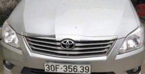 Bán xe Toyota Innova 2.0E sản xuất 2012, màu bạc chính chủ, giá chỉ 485 triệu giá 485 triệu tại Hà Nội