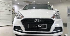 Bán Hyundai Grand i10 2 đầu bản thiếu màu trắng, xe giao liền, hỗ trợ vay ngân hàng giá 350 triệu tại Tp.HCM