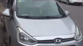 Bán xe Hyundai Grand i10 sản xuất năm 2015, màu bạc chính chủ giá 350 triệu tại Hà Nội