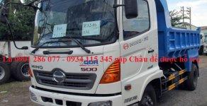 Bán xe ben Hino 6 tấn FC, tiết kiệm nhiên liệu, thân thiện môi trường, giá sốc, thủ tục đơn giản giá 940 triệu tại Tp.HCM