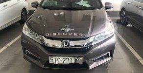 Cần bán xe Honda City 1.5 CVT sản xuất năm 2016, màu xám số tự động giá 540 triệu tại Tp.HCM
