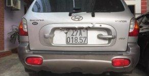 Bán ô tô Hyundai Santa Fe 2.4 MT đời 2004, màu bạc, nhập khẩu giá 225 triệu tại Yên Bái
