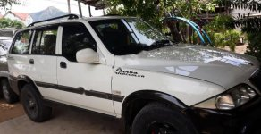 Cần bán xe Ssangyong Musso 2.3 sản xuất 2003, màu trắng còn mới giá cạnh tranh giá 150 triệu tại Phú Yên