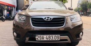 Bán Hyundai Santa Fe AT đời 2011, màu nâu, giá 715tr giá 715 triệu tại Hà Nội