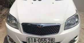 Cần bán lại xe Daewoo GentraX đời 2009, màu trắng, 260 triệu giá 260 triệu tại Bình Dương