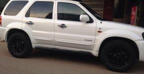 Chính chủ bán xe Ford Escape 2006 màu trắng, tự động gầm cao giá 227 triệu tại Tp.HCM