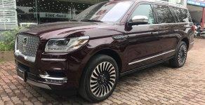 Bán Lincoln Navigator Black Label L 2018 màu đỏ, nội thất nâu da bò mới 100% giá 8 tỷ 850 tr tại Hà Nội
