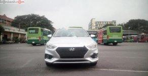 Bán ô tô Hyundai Accent 1.4 MT Base đời 2018, màu bạc giá 425 triệu tại Tp.HCM