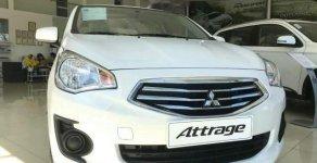 Bán ô tô Mitsubishi Attrage năm sản xuất 2018, màu trắng, xe nhập giá 375 triệu tại Đà Nẵng