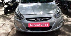 Bán Hyundai Accent 1.4AT sản xuất 2014, số tự động, màu bạc, nhập khẩu Hàn Quốc giá 415 triệu tại Tp.HCM