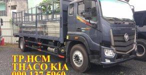 TP. HCM Thaco Auman C160 tải trọng 9.3 tấn, thùng mui bạt tôn lạnh, màu xám giá 742 triệu tại Tp.HCM