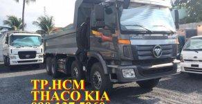 Tp. HCM xe Ben 4 chân, tải trọng 17.3 tấn Thaco Auman D300B, màu trắng giá 1 tỷ 360 tr tại Hà Nội