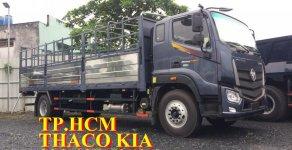 TP. HCM Thaco Auman C160 9.3 tấn thùng mui bạt vách tôn lạnh, màu trắng, giá 742tr giá 742 triệu tại Tp.HCM
