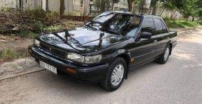 Cần bán gấp Nissan Bluebird đời 1992, màu đen giá 89 triệu tại Bắc Giang