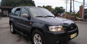 Bán Ford Escape 2002, màu xanh, xe đẹp, số tự động, tư nhân một chủ từ đầu giá 150 triệu tại Hải Phòng