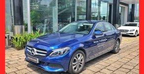 Bán xe Mercedes C200 xe cũ, màu xanh 2018 chính hãng giá 1 tỷ 460 tr tại Tp.HCM