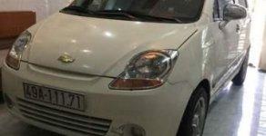 Cần bán gấp Chevrolet Spark đời 2010, màu trắng còn mới, giá 135tr giá 135 triệu tại Tp.HCM