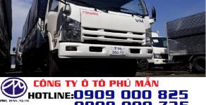 Mua trả góp xe tải Isuzu 8T2 thùng bạt giá tốt lãi suất thấp giá 750 triệu tại Tp.HCM