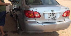 Cần bán Toyota Corolla altis 1.8G MT 2002, màu bạc giá 235 triệu tại Bắc Giang