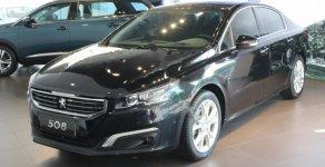 Bán Peugeot 508 1.6AT đời 2018, màu đen giá 1 tỷ 300 tr tại Cần Thơ