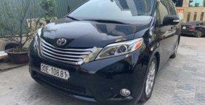 Bán xe Toyota Sienna Limited FWD đời 2015, màu đen, nhập khẩu giá 3 tỷ 100 tr tại Hà Nội