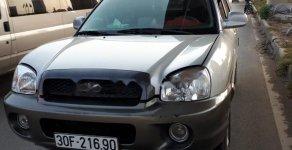 Bán Hyundai Santa Fe năm sản xuất 2003, màu bạc, nhập khẩu, 246tr giá 246 triệu tại Hà Nội