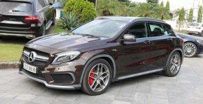 Bán Mercedes GLA45 AMG đăng kí 2018 nâu, nhập khẩu 0934299669 giá 2 tỷ 250 tr tại Hà Nội