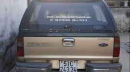 Bán gấp Ford Ranger năm sản xuất 2003, màu vàng, nhập khẩu giá 250 triệu tại Tp.HCM