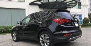 Bán xe Hyundai Santa Fe 2.4AT 4WD 7 chỗ đời 2015, màu đen, giá 945tr giá 945 triệu tại Hà Nội