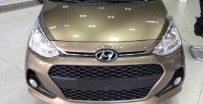 Bán xe Hyundai Grand i10 sản xuất năm 2018, màu nâu giá cạnh tranh giá 374 triệu tại Khánh Hòa