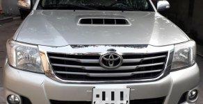 Cần bán xe Toyota Hilux E sản xuất 2014, màu bạc, nhập khẩu giá 495 triệu tại Tp.HCM