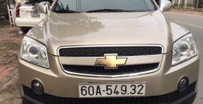 Cần bán Chevrolet Captiva LT đời 2007, màu vàng giá 285 triệu tại Bình Dương