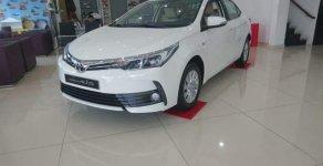 Bán xe Toyota Corolla altis 1.8E CVT sản xuất 2018, màu trắng giá 682 triệu tại Tp.HCM