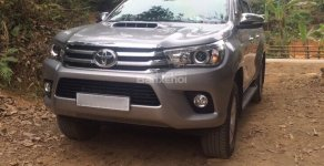 Bán Toyota Hilux G sản xuất năm 2015, màu bạc, nhập khẩu, giá chỉ 700 triệu giá 700 triệu tại Bắc Kạn