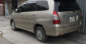 Cần bán xe Toyota Innova 2.0E đời 2013, màu vàng, giá 510tr giá 510 triệu tại Hải Phòng