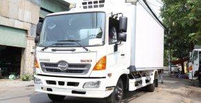 Bán xe Hino FC 9JJTA năm 2018, màu trắng, nhập khẩu nguyên chiếc, giá tốt giá 830 triệu tại Tp.HCM