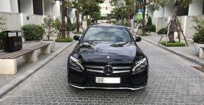 Bán Mercedes C300 AMG model 2017, màu đen giá 1 tỷ 660 tr tại Hà Nội
