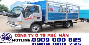 Giá xe tải Jac 2T4 vào được thành phố ban ngày, xe tải Jac 2T4 thùng bạt giá 255 triệu tại Tp.HCM