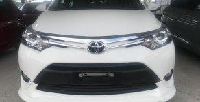 Cần bán gấp Toyota Vios đời 2018 màu trắng, chạy chuẩn 5000km giá tốt giá 599 triệu tại Hà Nội