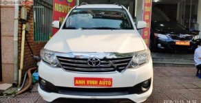 Cần bán xe Toyota Fortuner TRD Sportivo 4x2 AT đời 2014, màu trắng giá cạnh tranh giá 829 triệu tại Hà Nội