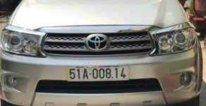 Bán Toyota Fortuner sản xuất năm 2010, màu bạc, nhập khẩu, giá chỉ 660 triệu giá 660 triệu tại Tp.HCM