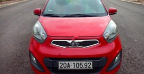 Cần bán lại xe Kia Morning 1.0 AT sản xuất năm 2011, màu đỏ, nhập khẩu nguyên chiếc xe gia đình giá cạnh tranh giá 338 triệu tại Thái Nguyên