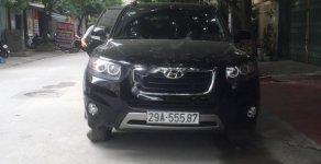 Cần bán xe Hyundai Santa Fe 2.0L sản xuất năm 2012, màu đen, nhập khẩu Hàn Quốc chính chủ, giá tốt giá 836 triệu tại Hà Nội